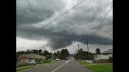Силна гръмотевична буря в Сидни, Австралия 15.3.2014