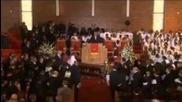 whitney elisebeth houston funeral service 18 february 2012 newark, new jersey
