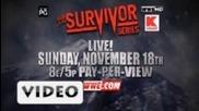 Супер Промо със The miz на Survaivor Series 2012