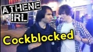 Athene Irl - Cockblocked