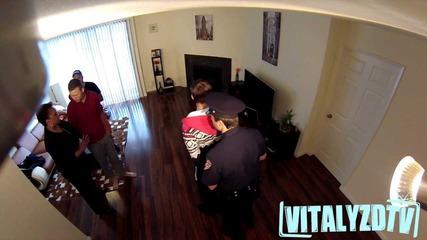 Jerome Jarre Gets Arrested Prank!