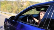 Bmw E39 M5 Tef Girl, Quick Burnout Loud exhaust (hd)