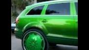 Audi Q7 с 30 цола джанти
