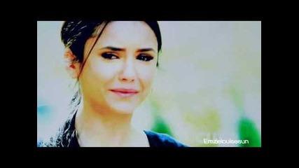 Damon and Elena   next to you