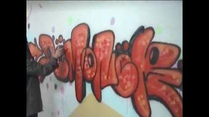 Graffiti Bombing - Demon