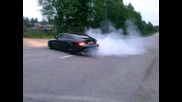 Mercedes Cls amg burnout