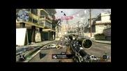 6 Kills 1 Sniper Bullet! (black Ops)