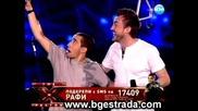 Lubomir Kirov i Rafi Bohosyan - Ako nyakoga - X factor (2011)