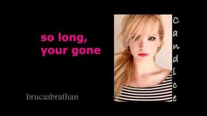 Candice Accola Our Break Up Song Lyrics