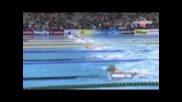 Fina Shanghai world championship 2011 - 100m Breaststroke Final Giedrius Titenis