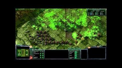Starcraft 2 - 400 Банелинга срещу цяла армия