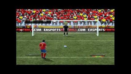 Fifa 12 - Испания - Англия Дузпи [hd]