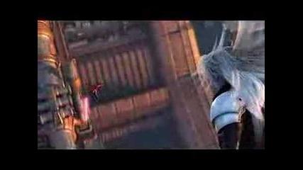 Final Fantasy Vii Crisis Core - Angeal vs Genesis vs Sephy