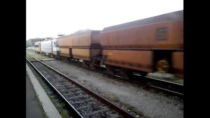 43 528 + 46 125 с Товарен влак