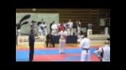 Международно състезание по шинкиокушин карате част 2