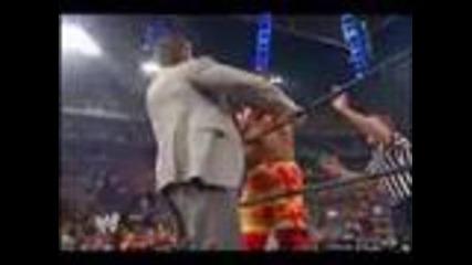 Hulk Hogan vs The Undertaker 2002 - part 2/2