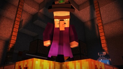 Witch Encounter - Minecraft Animation