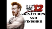 Wwe 12 - Sheamus - Signature and Finisher - Irish Curse And High Cross