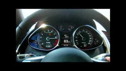 1000 Whp Audi R8 Ur Tt Acceleration 20-180 mp/h