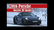 2016 Porsche Boxster Rs Spyder, spotted in Scandinavia