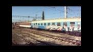 Пв 20162 с локомотив 43 513 потегля от Каспичан