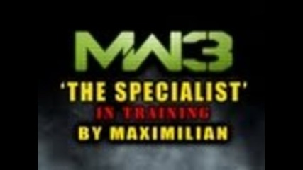 The Specialist mode Mw3