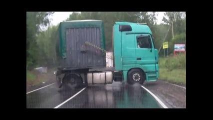 Компилация Катастрофи с камиони
