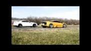 Nissan Gt-r vs. Lamborghini Murcielago