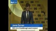 Джейми Дорнан печели Vertu Breakthrough Artist на годината