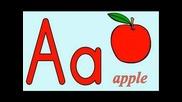 английската азбука с картинки