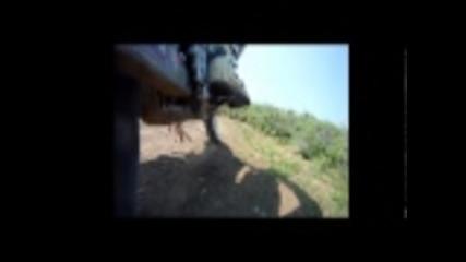 Мотокрос тренировка на Ябланица с падане