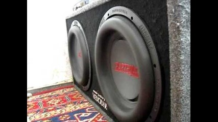 Earthquake dbxi 12 bass will destroy you
