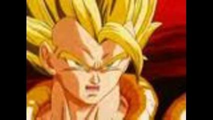 Dragon Ball Z Goku And Vegeta Fusion