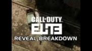 Modern Warfare 3/black Ops: Call of Duty Elite Reveal Breakdown Jx23 (bo Gameplay/commentary)