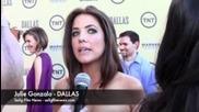 Dallas on Tnt Red Carpet - Julie Gonzalo