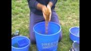 Tom Pickering on mixing groundbait for carp