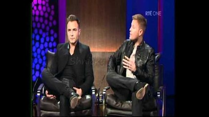 Westlife on The Late Late Show 04.11.11 - Part 1