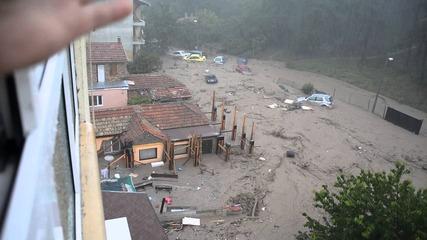 Началото на трагедията, наводнението в гр.варна, Аспарух
