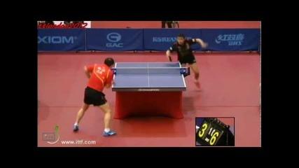 Korea Open 2013 1/4 Final - Wang Hao vs Ma Lin