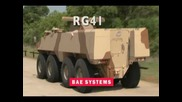 Bae Systems - Rg41 Wheeled Armoured Combat Vehicle