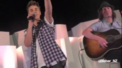 Justin Bieber Showcase - One Less Lonely Girl - Auckland, Nz