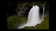 Scenic 3 Hour Video of Large Waterfall