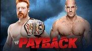 Sheamus vs. Cesaro - Wwe Payback 2014 - Wwe 2k14 Simulation