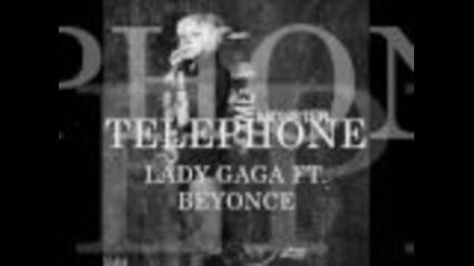 Lady Gaga Ft. Beyonce - Telephone (lyrics! on screen)