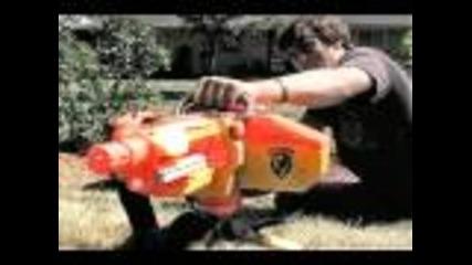 Nerf Война!!!