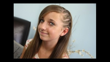 Side Flat Twists | Back-to-school | Cute Girls Hairstyles