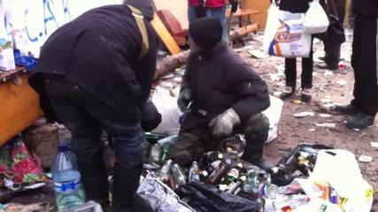 Ето как протестират Украинците
