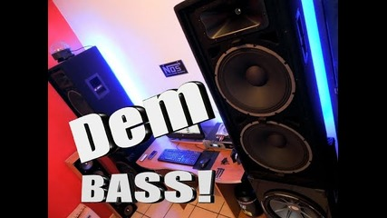 Loudest Bass Demo With New Camera!