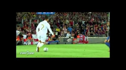Cristiano Ronaldo Battle vs Barcelona 2007 - 2012 Hd
