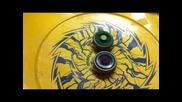 Zombie Beyblade - крадат завъртане!! Ръчно се завъртя Vs Launcher